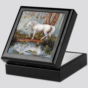 UNICORN REFLECTION Keepsake Box
